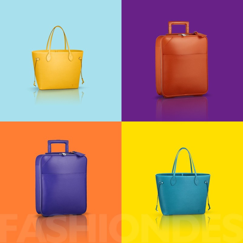 Louis Vuitton推出全新Epi Neverfull中号手袋