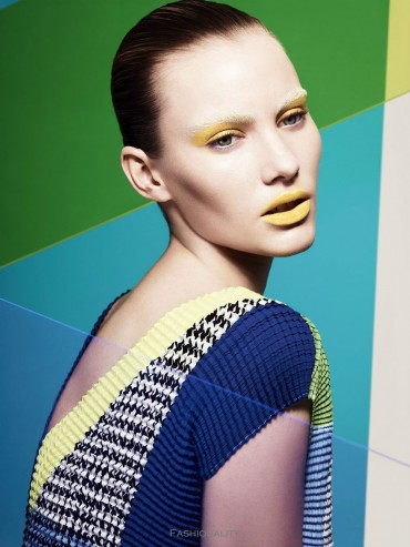 彩色容顏 Emily Baker by Jem Mitchell for Mixt(e) Paris Spring 2013