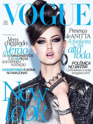 Lindsey Wixson 《Vogue》巴西版2013年8月刊时尚大片