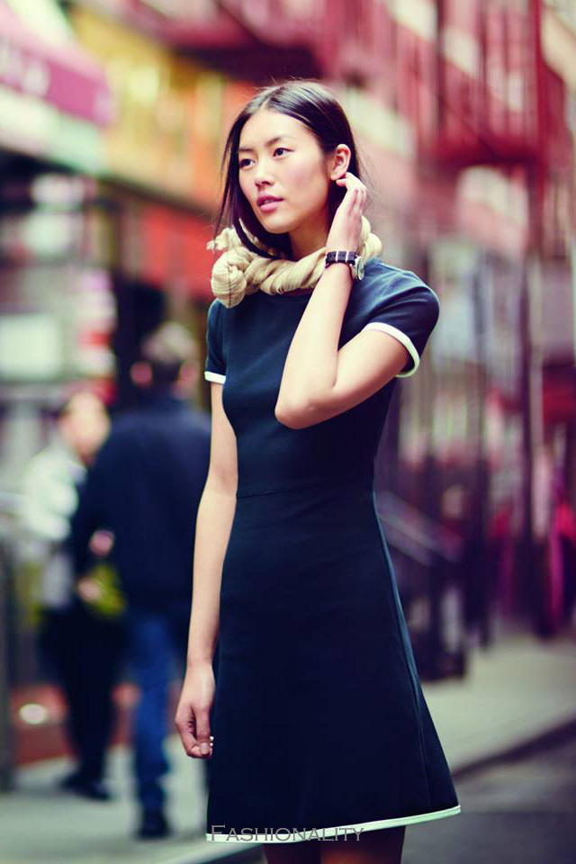 親切劉雯 J. Crew Fall 2013 Womenswear Collection