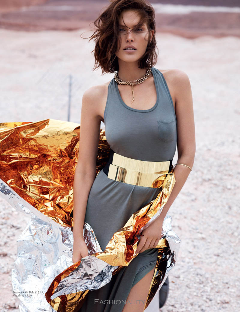 戈壁實驗 Catherine McNeil by Josh Olins for H&M Magazine Summer 2013