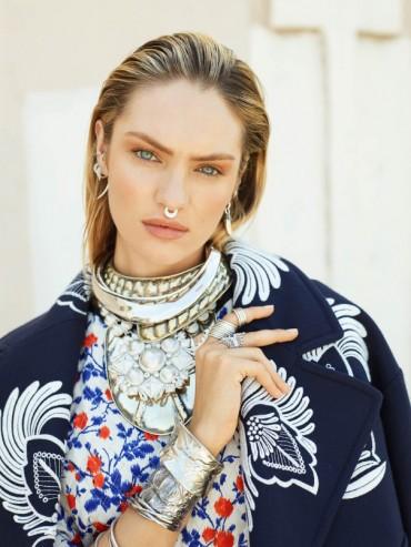 Candice Swanepoel 为 《Vogue》 俄罗斯版2013年8月刊拍摄时尚大片