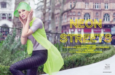 Neon Streets on Behance