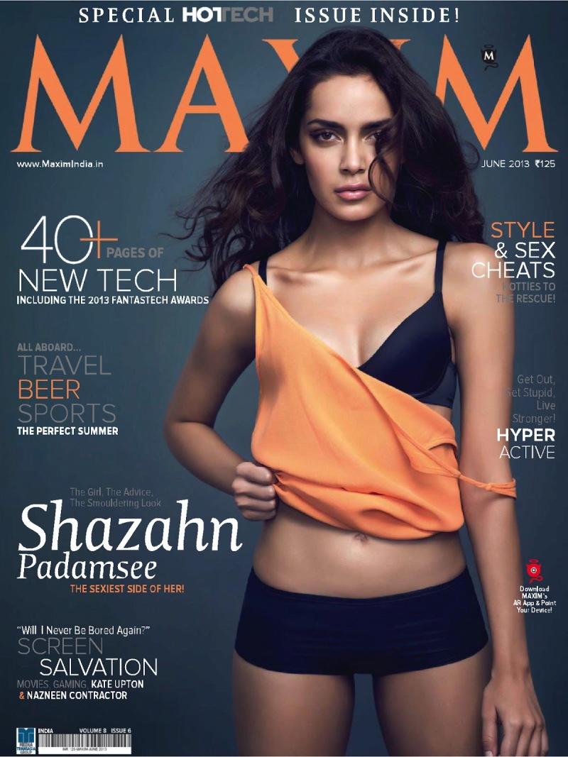 Shazahn Padamsee 《Maxim》印度版封面大片