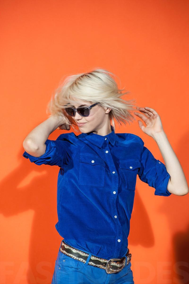 Mai Lan for Vogue Eyewear Summer 2013 Campaign