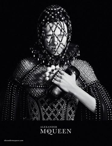 Alexander McQueen Fall 2013 Campaign