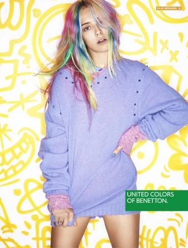 Benetton(贝纳通)2013秋冬系列广告大片