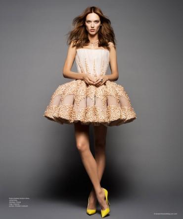拉美版 《Harper's Bazaar》 高级定制礼服大片