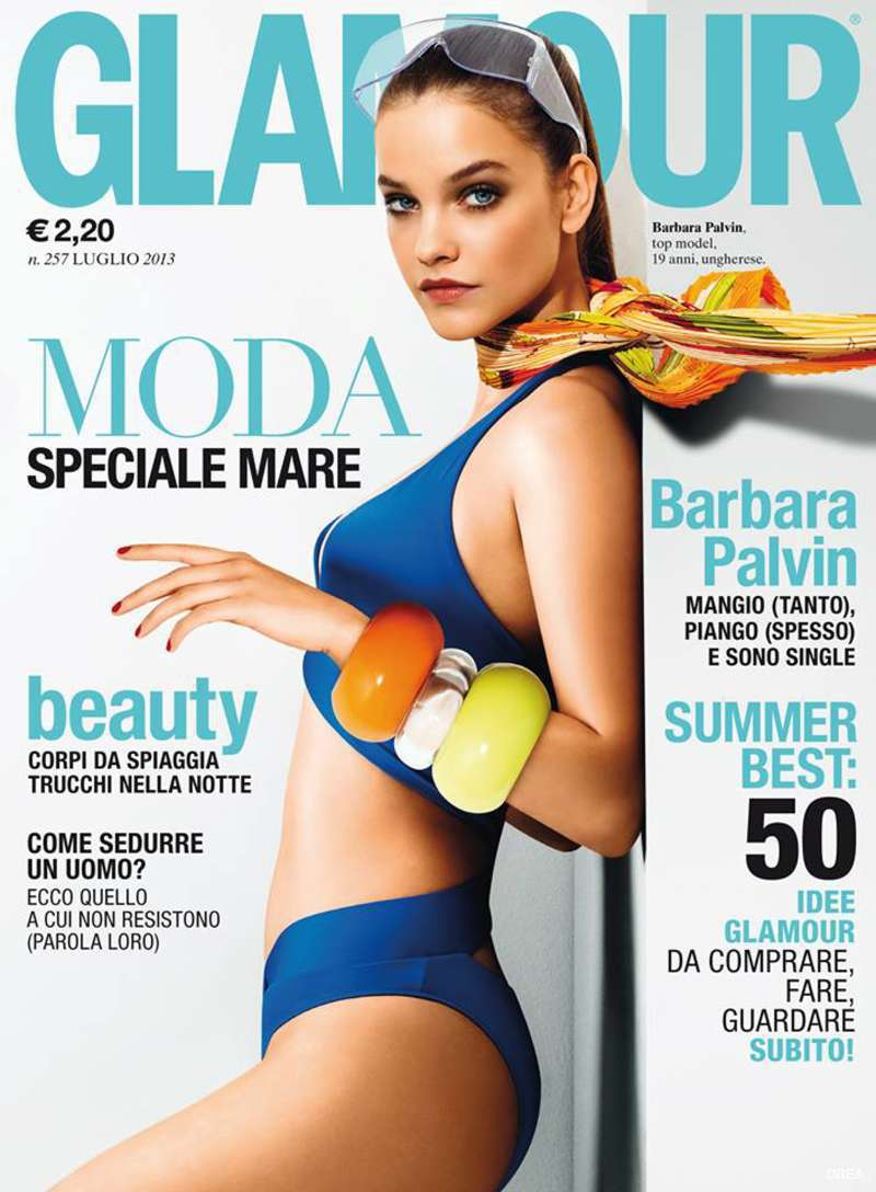 Barbara Palvin in 《Glamour》意大利版 2013年7月刊