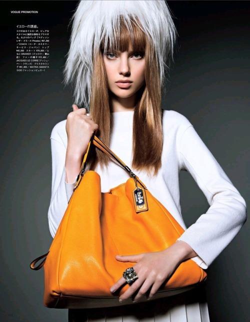 《Vogue》日本版2013年9月刊时尚大片