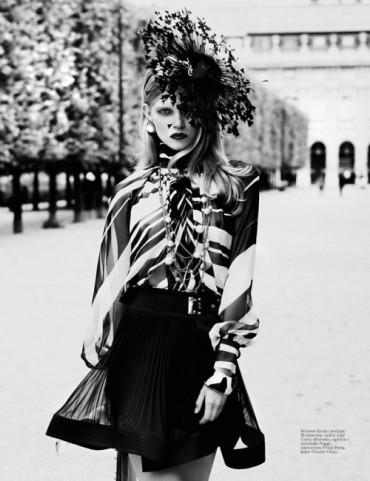 Ola Rudnicka《Elle》塞尔维亚版2013年8月刊时尚大片