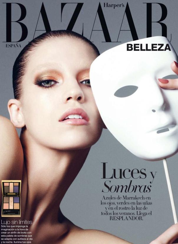 《Harper's Bazaar》西班牙版2013年6月刊Sombra Sensual大片