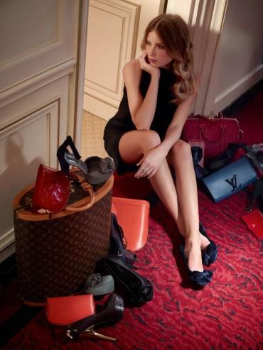 Louis Vuitton Pre-Fall 2013年时尚大片