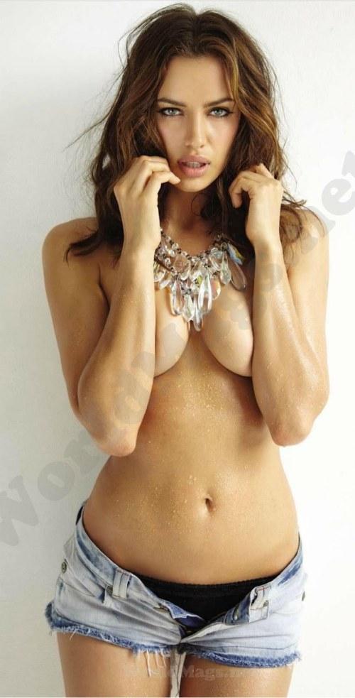 Irina Shayk《FHM》杂志时尚大片