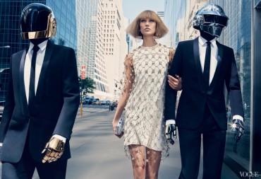 Karlie Kloss & Daft Punk for 《Vogue》 US August 2013