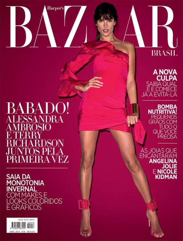 Alessandra Ambrosio 《Harper's Bazaar》巴西版2013年6月刊大片