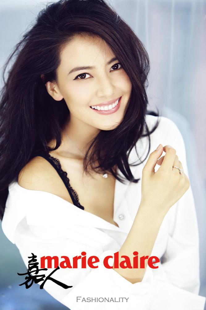 知性女人 高圆圆 《Marie Claire》中国版2013年9月刊封面大片