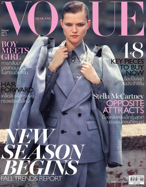 《Vogue》泰国版2013年8月刊时尚大片