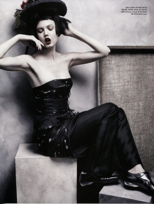Lindsey Wixson 《Vogue》韩国版2013年4月刊时尚大片