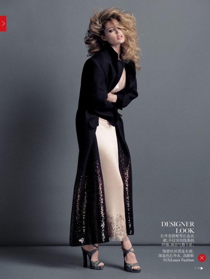 Inez & Vinoodh 《Vogue》中国版2013年9月刊时尚大片