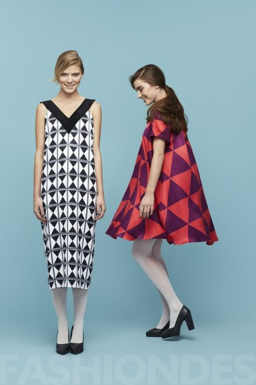 Marimekko Winter 2013 Lookbook时尚大片