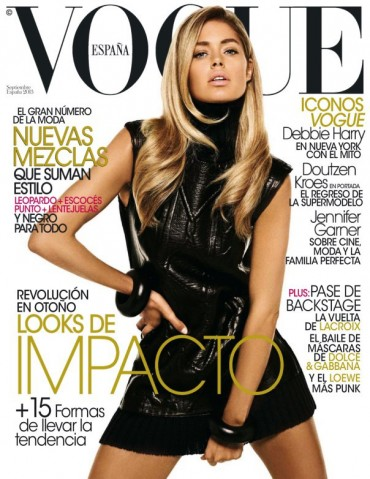 Doutzen Kroes for 《Vogue》西班牙版2013年9月刊封面大片