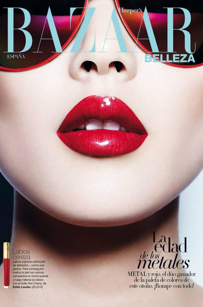 《 Harper's Bazaar 》西班牙版2013年9月刊刘雯时尚大片