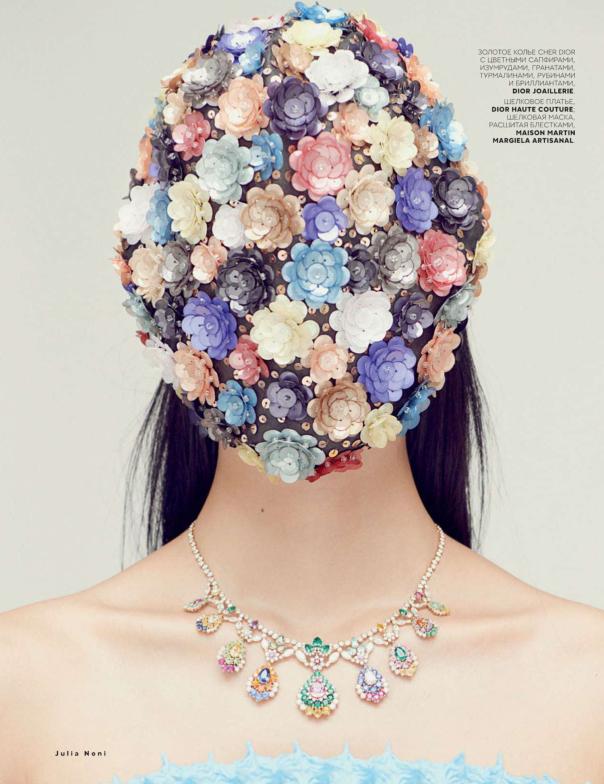 俄罗斯《Vogue》9月刊珠宝大片