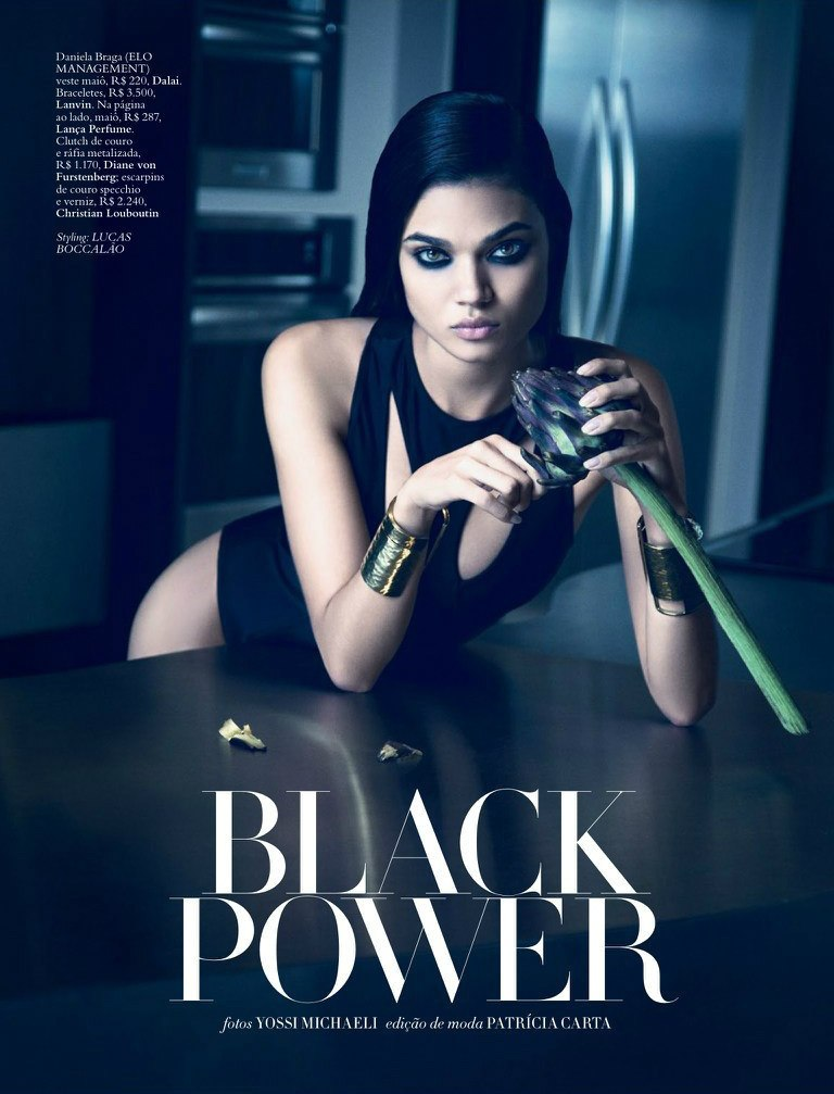 《 Harper's Bazaar》Daniela Braga时尚大片