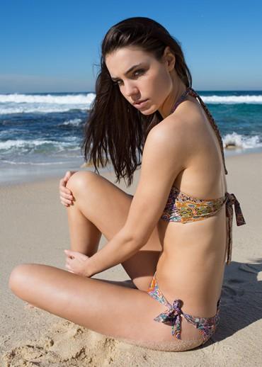 超模KATE MARTIN MODELS PAOLITA'S 2013年泳装大片