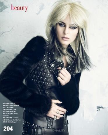 """朋克生活 """"punk me"""" ellinore erichsen 《Vogue》台湾版时尚大片"""
