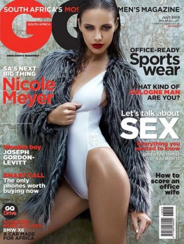 《GQ》南非版2013年7月刊封面大片