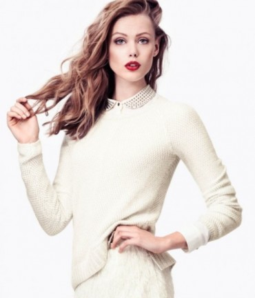 Frida Gustavsson Models 'Effortless Elegance' 《H&M》时尚大片
