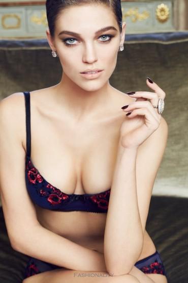 """第一次羞澀 """"At First Blush"""" SAMANTHA GRADOVILLE FOR BLUSH LINGERIE'S FALL 2013"""