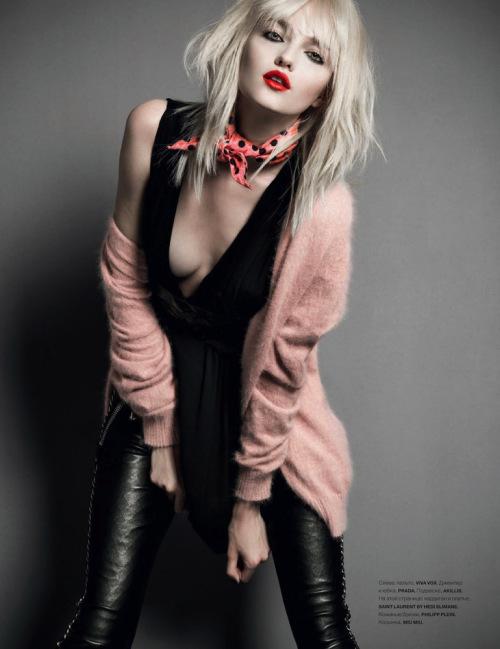 Vlada Roslyakova 《Numero》俄罗斯版2013年8月刊时尚大片
