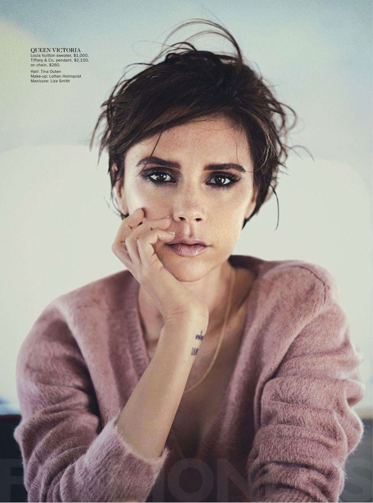Victoria Beckham by Boo George for 《Vogue》澳大利亚版2013年9月刊时尚大片