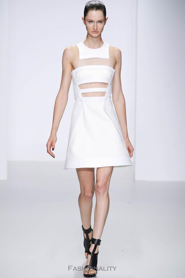 David Koma 2014年春季时装发布