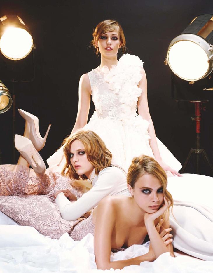 《Numero》2013年9月刊Karl Lagerfeld时尚大片