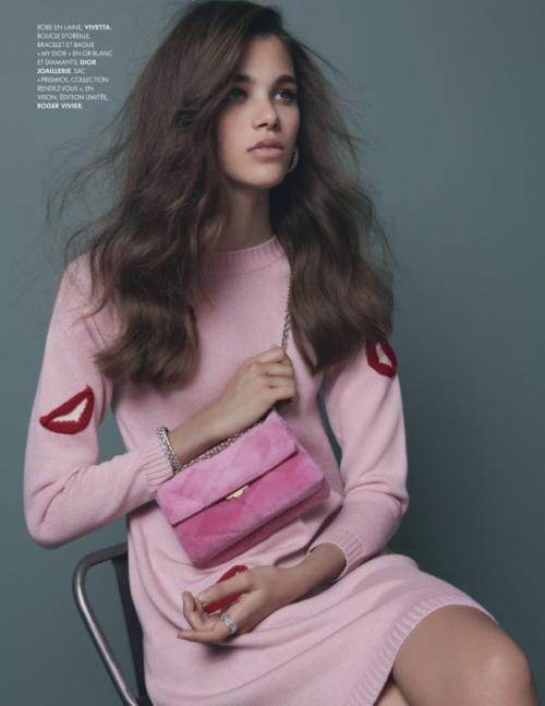 《Elle》法国版2013年8月刊时尚大片