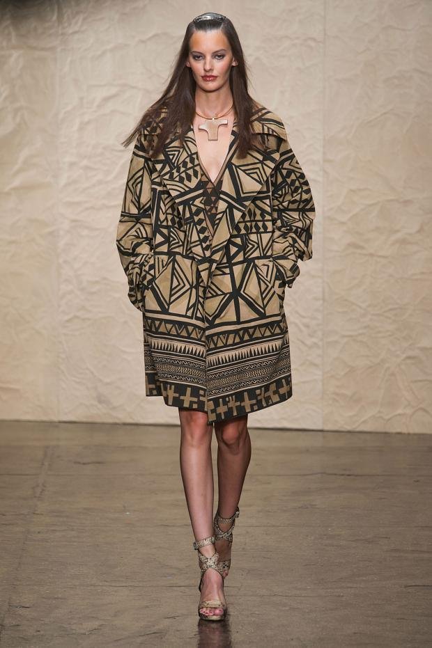 Donna Karan 2014春夏女装系列:非洲猎游