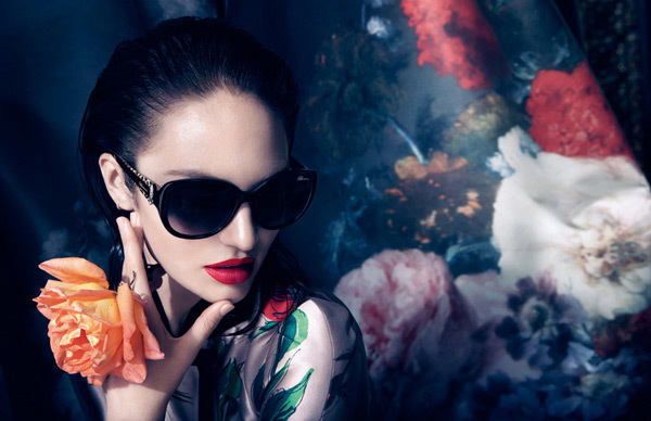 Candice Swanepoel for Blumarine FW1314 by Camilla Akrans