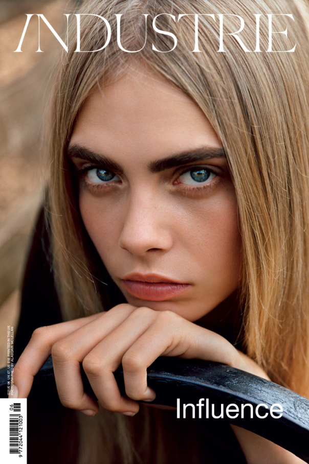 Cara Delevingne for 《Industrie》 Magazine时尚大片
