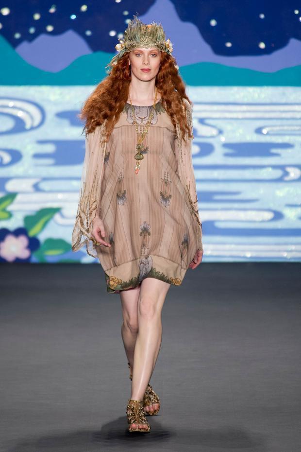 Anna Sui 2014春夏女装系列:童话中的嬉皮之夜