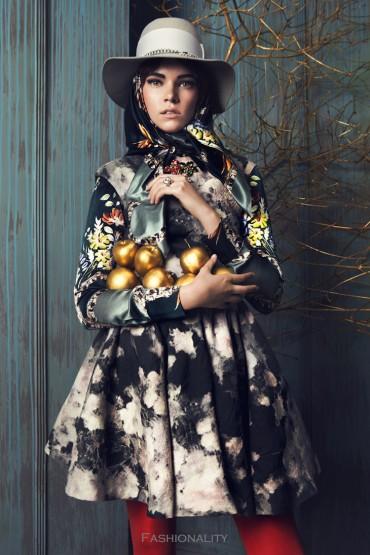 金蘋果 Zuzanna Stankiewicz by Lukasz Pukowiec for Bizuu Fall/Winter 2013 Campaign时尚大片