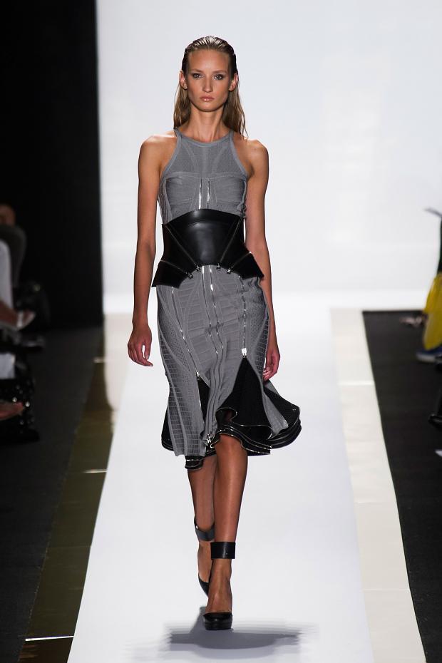 Herve Leger 2014春夏女装系列:切割性感