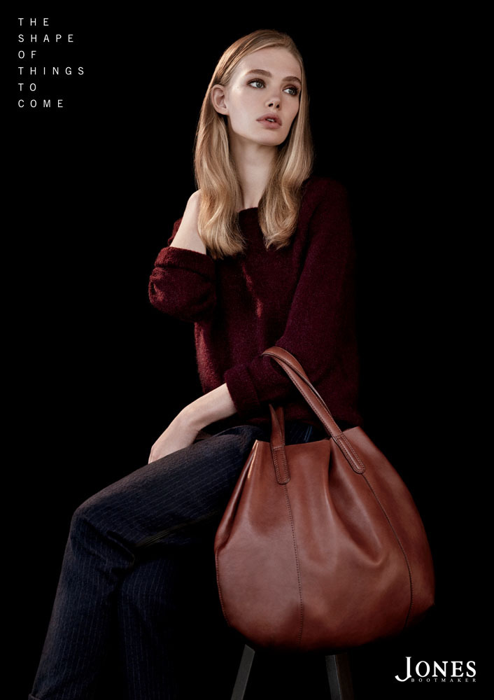 Marnie Harris fronts Jones Bbootmaker f/w 2013 Campaign