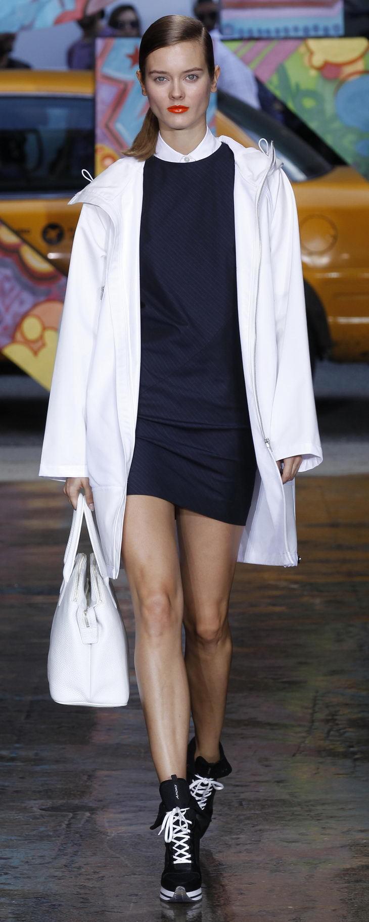 DKNY Spring Summer 2014 Womenswear Collection 时尚大片