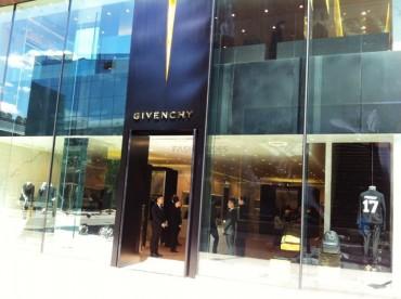 Givenchy三里屯太古里旗舰店开业