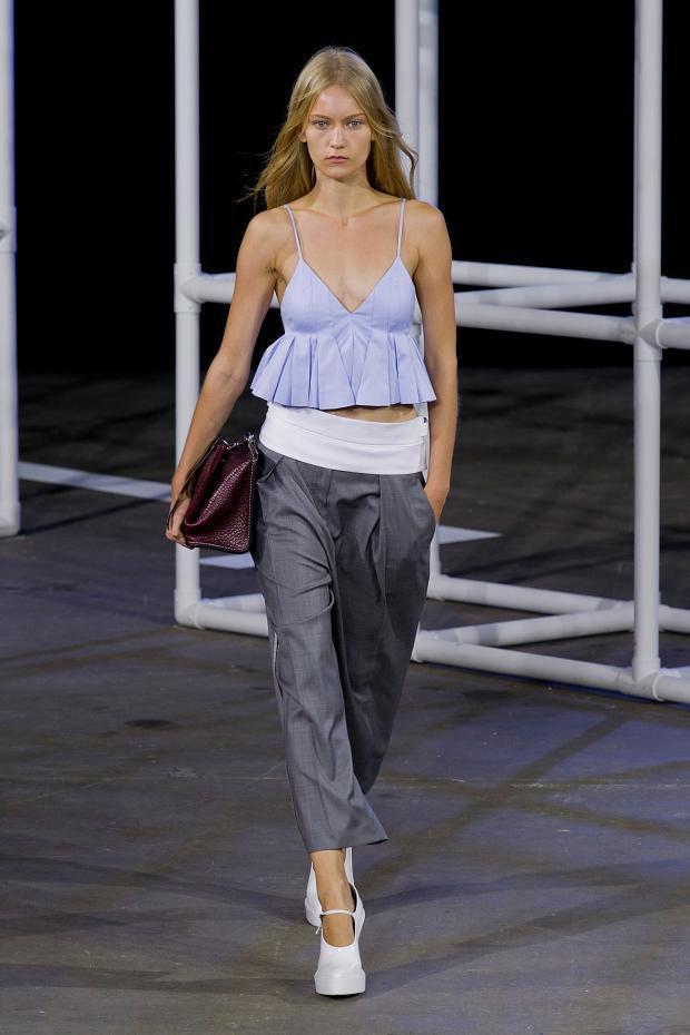 Alexander Wang 2014春夏女装系列:穿上睡衣去运动