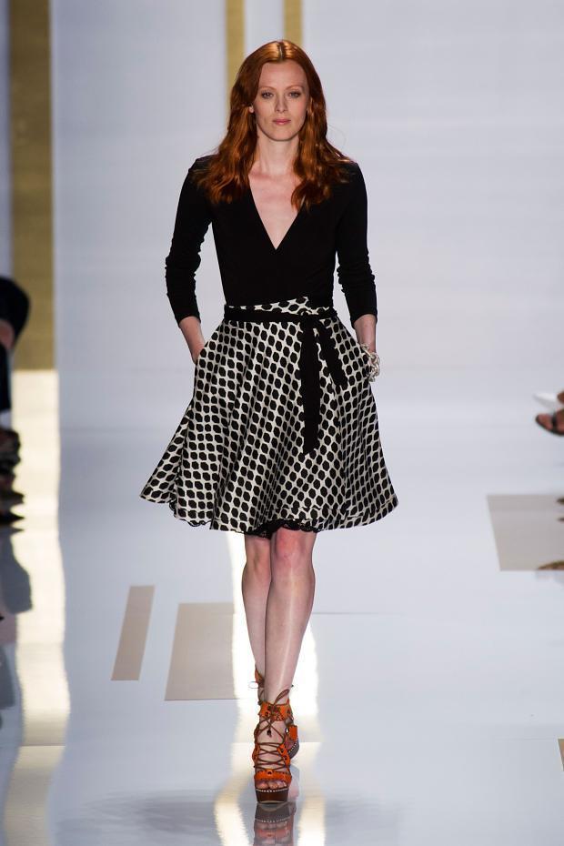 Diane von Furstenberg 2014春夏女装系列:都市绿洲